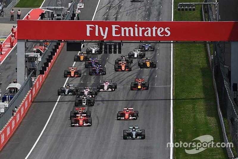 """""""فيا"""" تُشدّد قوانين الانطلاقات المبكرة في الفورمولا واحد لموسم 2018"""