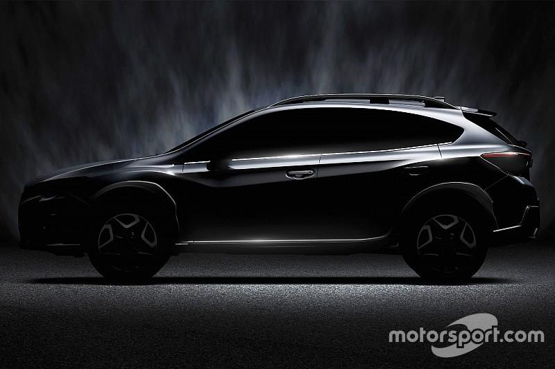 Premier teaser pour le nouveau Subaru XV