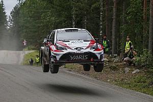 WRC Yarış ayak raporu Finlandiya WRC: Cuma gününün lideri çaylak Lappi, Finli sürücüler ilk 3'te!