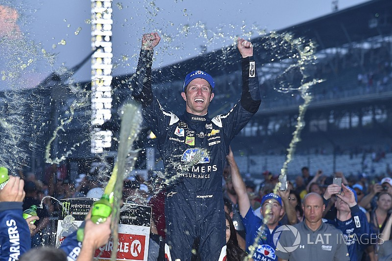 Facing an uncertain future, Kahne makes big statement with Indy win