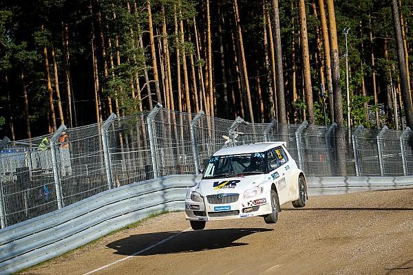 FIA Ralikrossz Eb Motorsport.com hírek Ralikrossz Eb: Szabó Krisztiánnak a felhőszakadással is meg kellett küzdenie
