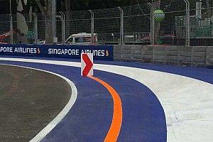 """""""فيا"""" تؤكد على ضرورة التقيد بالمسار في المنعطف الثاني لحلبة سنغافورة"""