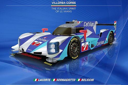 Svelata la livrea 2017 del prototipo LMP2 del team Villorba Corse