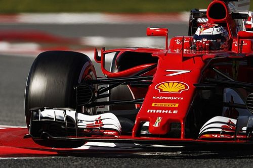 Barcelona F1 test: Raikkonen first to break into the 1m18s