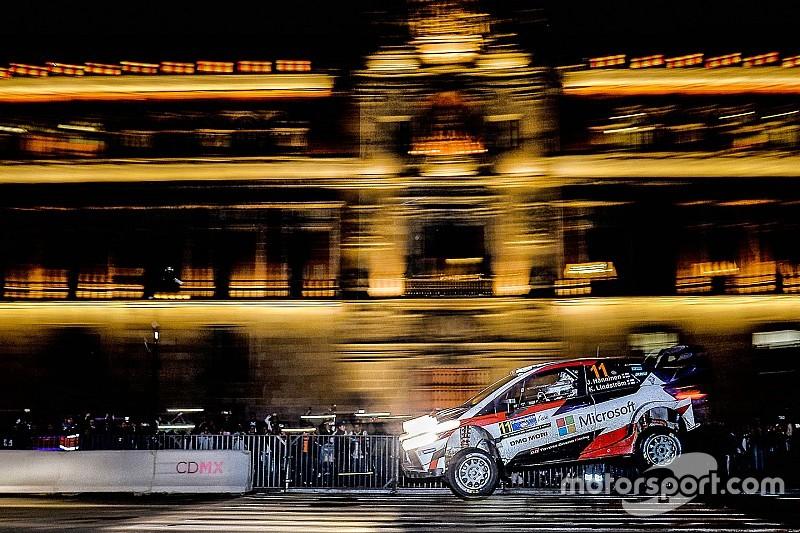 WRC in Mexiko: Juho Hänninen führt nach Bestzeit in Mexico City