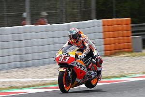 MotoGP News MotoGP-Champ Marc Marquez fliegt in Barcelona tief: 4 Crashs am Samstag