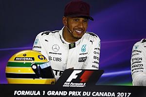 Hamilton: 'Gostaria de ter sido companheiro de Senna'
