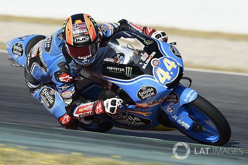 Canet stays in Moto3 in 2018 with Estrella Galicia