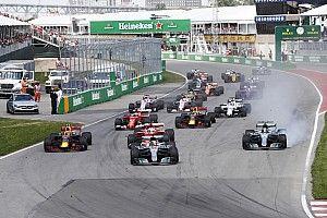 Formel 1 2017 in Montreal: Das Rennergebnis in Bildern