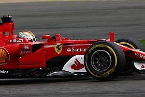 """Vettel admite que fue un poco """"gallina"""" en la última curva"""