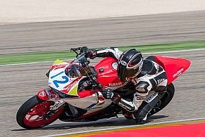 Debut di World Supersport 300, Ali Adrian tak finis balapan