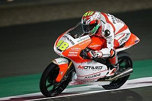 Mahindra hurt by 'bad grid position' in Qatar Moto3