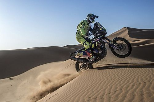 Merzouga Rally: Sherco TVS' Pedrero fourth, Hero's Santosh in top 15