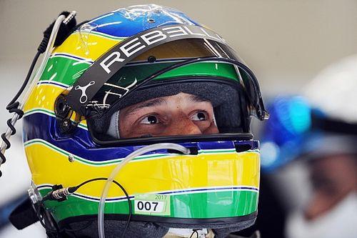 Quarto na LMP2, Senna aposta em gestão de pneus para avançar