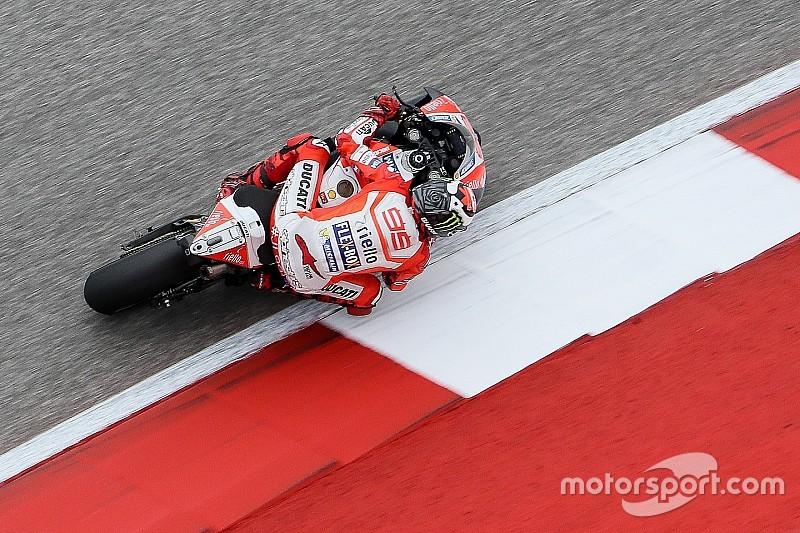"""Lorenzo: """"El podio aún no es un resultado realista"""""""