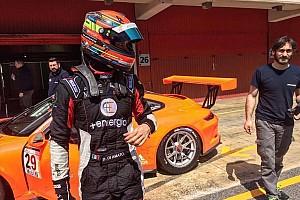 Porsche Supercup Test Daniele Di Amato in evidenza nei test collettivi di Barcellona
