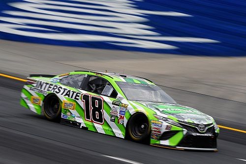 Kyle Busch leads final Cup practice at NHMS