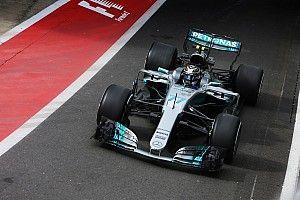 【F1】好調ボッタス、ギヤボックス交換でペナルティ。メルセデス認める