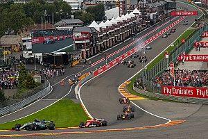 تمديد عقد جائزة بلجيكا الكبرى لثلاثة مواسم في الفورمولا واحد