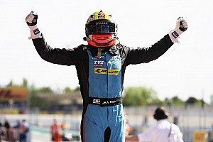Новый пилот по развитию Haas впервые выиграл гонку GP3