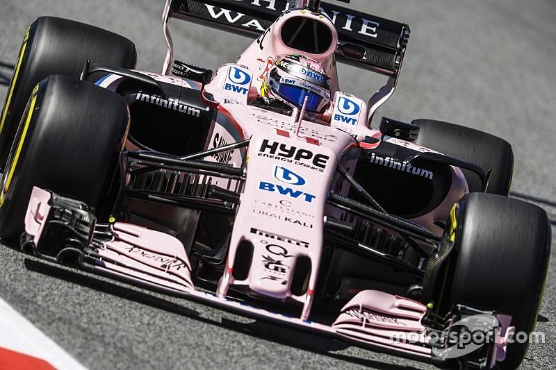 Force India écope d'une amende avec sursis pour ses numéros