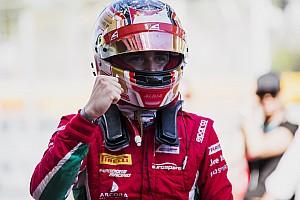 FIA F2 Отчет о квалификации Леклер выиграл квалификацию в Монако, но может потерять поул