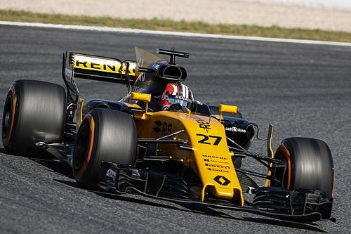 Hulkenberg says Renault form hurt by wind