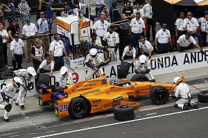 Alonso az Andretti-Honda csapattal áll rajthoz a legendás Indy 500-on
