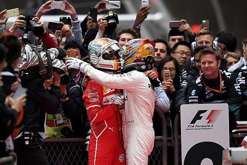"""Hamilton: """"Un bel GP perché Ferrari e Vettel sono alla nostra altezza"""""""