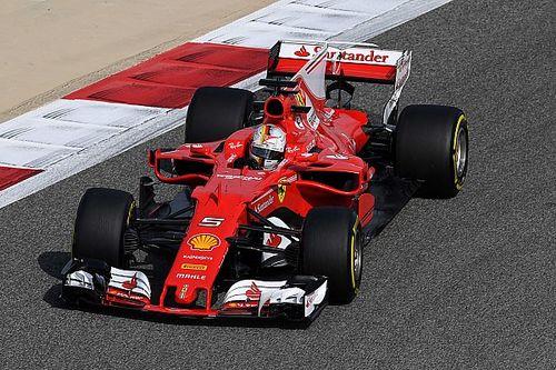 Vettel lideró la FP1 de Bahrein y Pérez fue cuarto