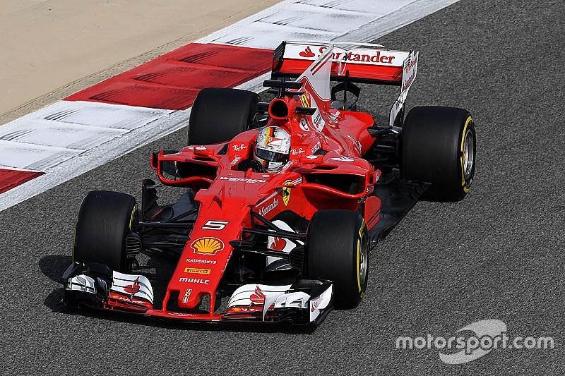 Bahrain, Libere 1: Vettel svetta nel caldo, Raikkonen rompe il turbo!