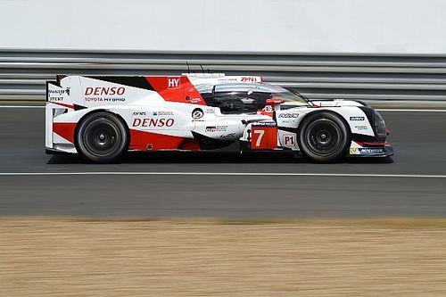 Toyota bate la pole de 2016 en los test para las 24 horas de Le Mans