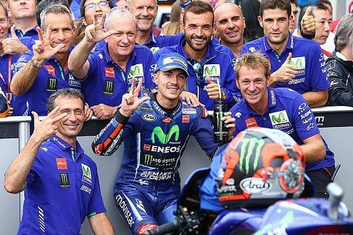 Viñales termina su sequía de podios en Brno
