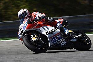 Dovizioso pagó caro el error de Ducati