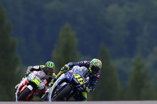 "Rossi admits flag-to-flag races ""not my strong point"""
