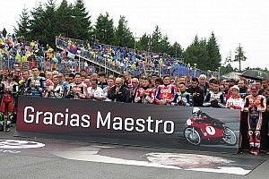 GALERI: Aksi pembalap MotoGP pada Minggu
