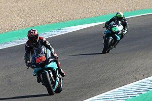 Quartararo voor Dovizioso in warm-up GP van Andalusië