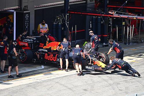 На машину Ферстаппена перед гонкой вернули старый мотор