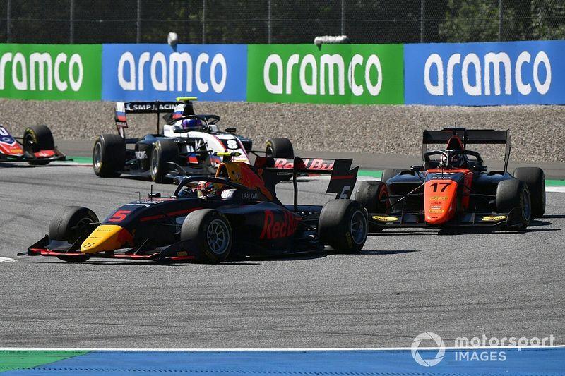 F3, Red Bull Ring, Gara 2: Lawson più forte della Safety Car