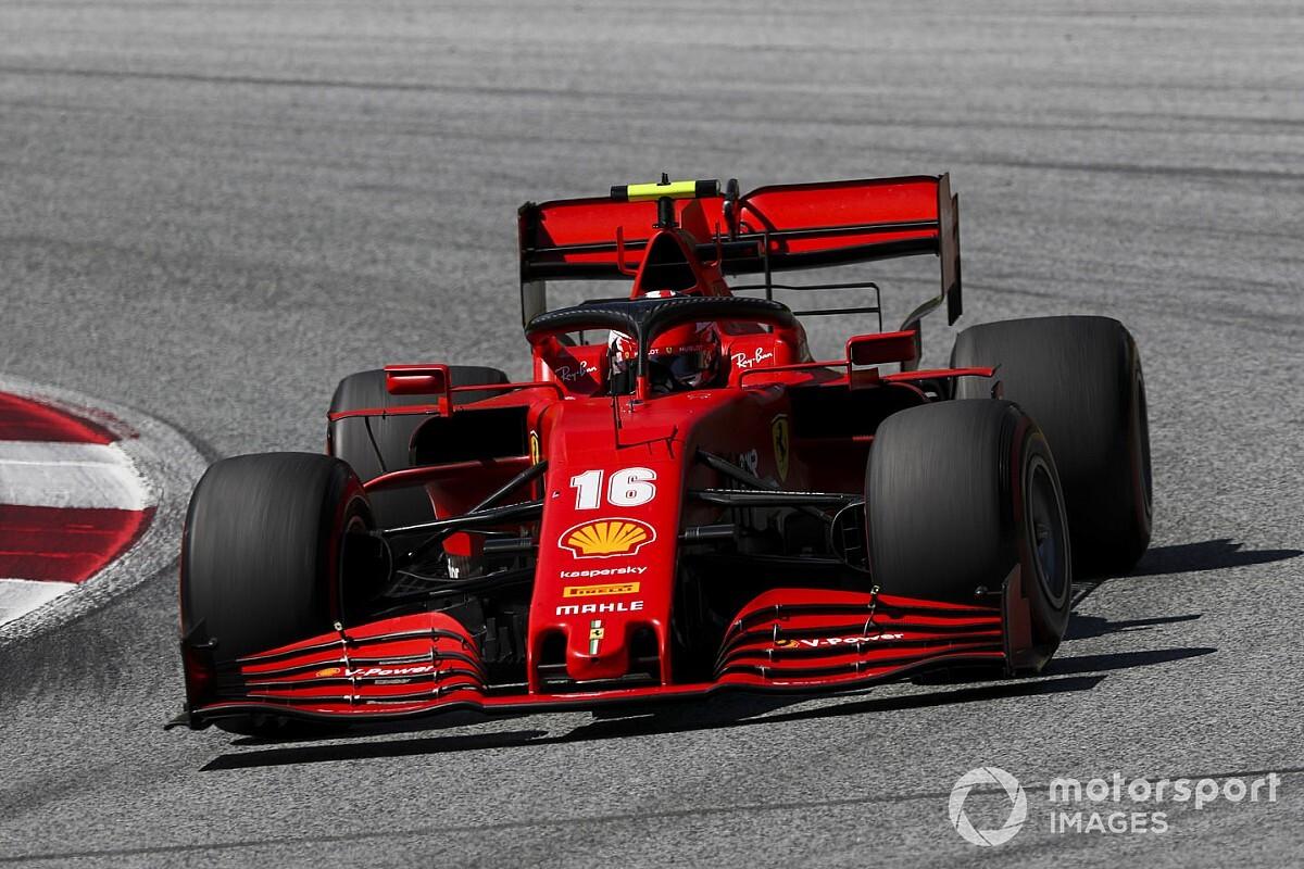 Leclerc ne sait pas si un podium sera possible au GP de Styrie