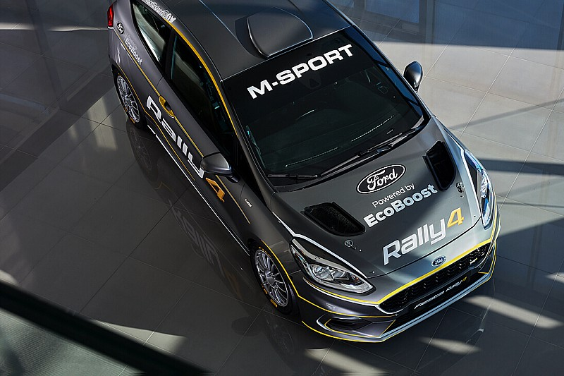 WRC: M-Sport presenta la nuova Ford Fiesta Rally4