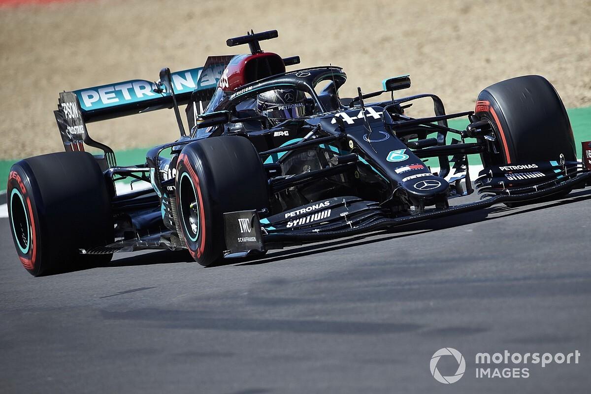 Mercedes снова доминировал на тренировке, лучшим из остальных стал Норрис