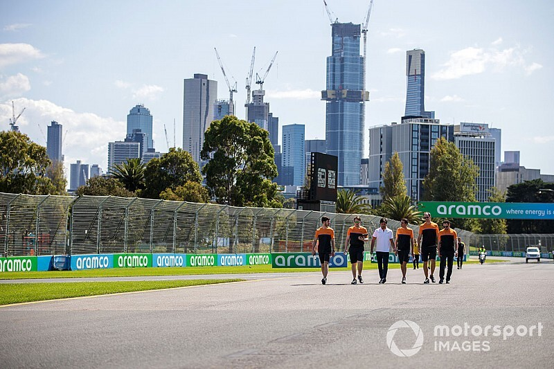 Quarantined McLaren F1 staff to make UK return this week