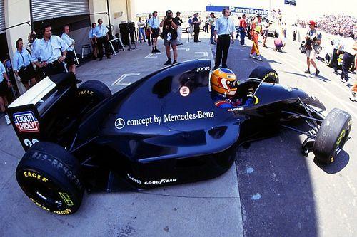 """美しきF1マシン:「メルセデス、F1への第一歩となる漆黒の""""始祖機""""」ザウバーC12"""