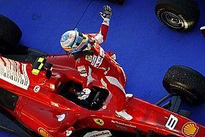 Tíz éve Bahreinben győzelemmel debütált a Ferrarinál Fernando Alonso