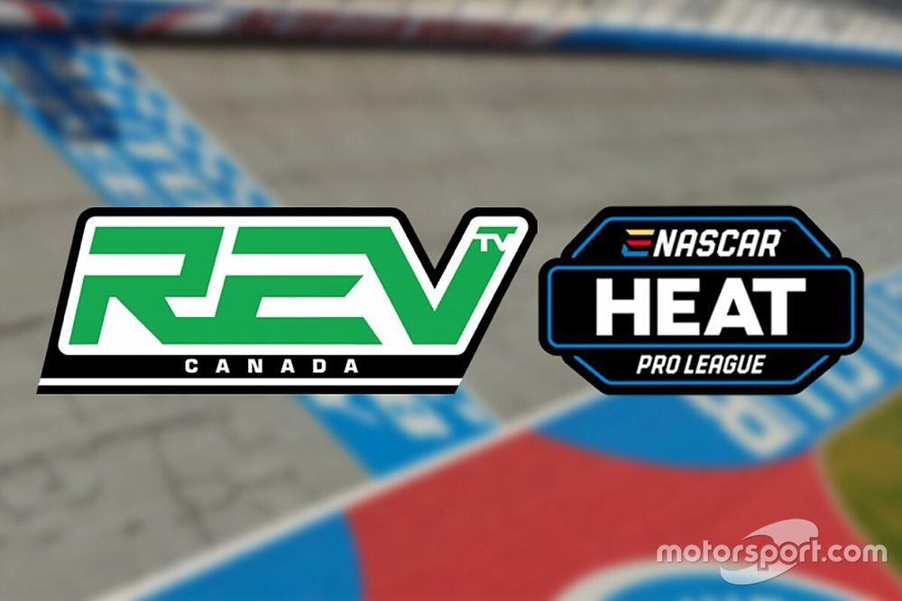 L'eNASCAR Heat Pro League sur REV TV Canada