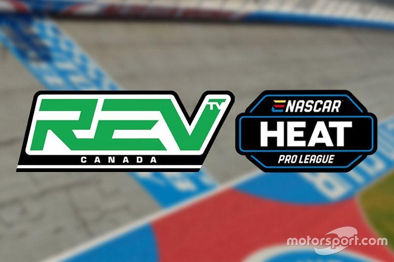 La eNASCAR Heat Pro League si vedrà su REV TV in Canada