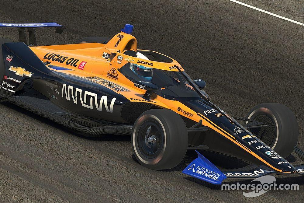 Norris se apunta al campeonato virtual de IndyCar