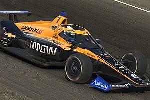 Norris cambia la F1 por la IndyCar, virtualmente