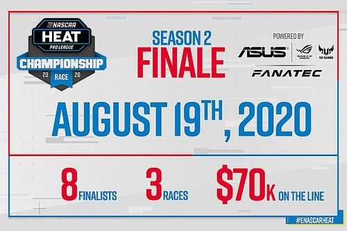 ASUS and Fanatec power eNASCAR Heat Pro League finals